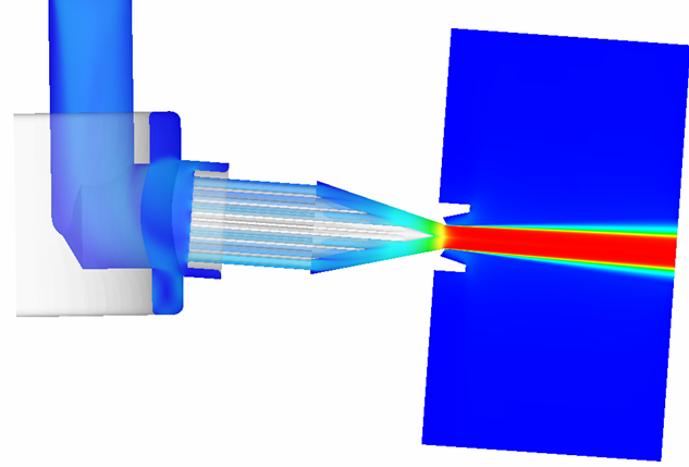 Water jet nozzle crunch cfd by craft tech